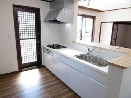 高野台中川邸キッチン