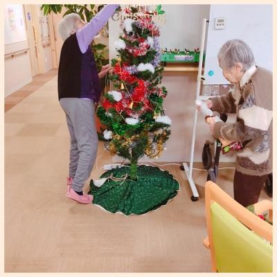 12月クリスマス飾り付け①