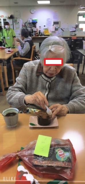 クリスマス会ケーキ③