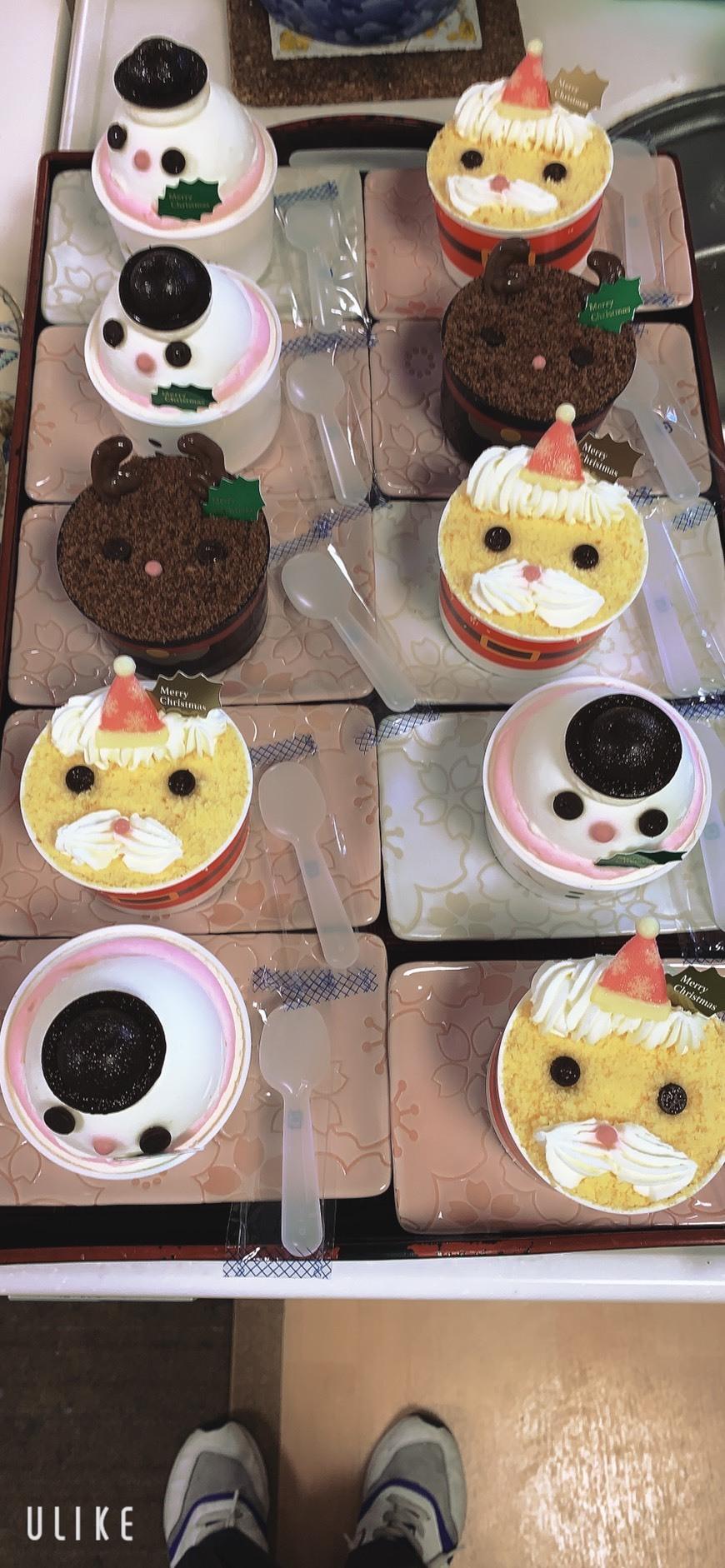 クリスマス会ケーキ②