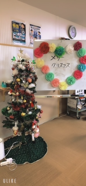 クリスマス会飾り①