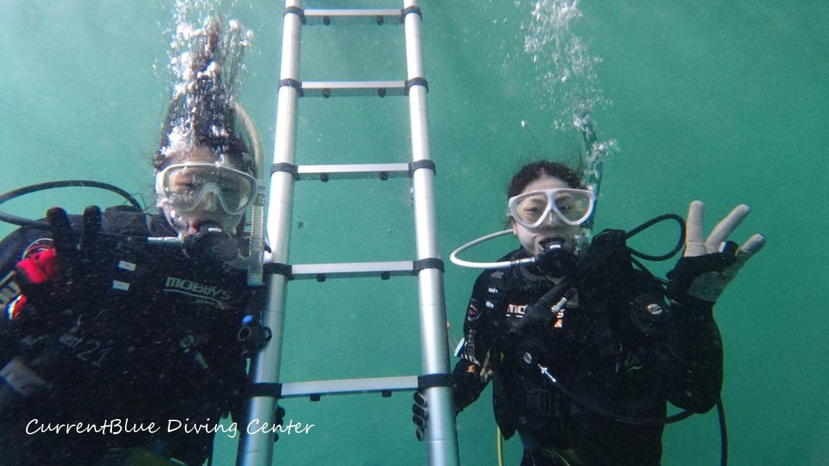 印西プールでダイビング,体験ダイビング