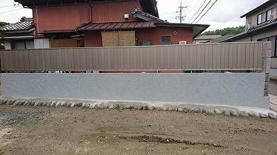 フェンス工事 (2)