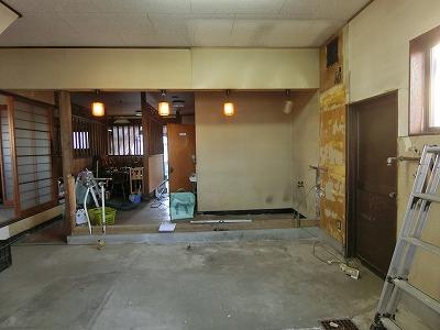 キッチン工事 (1)