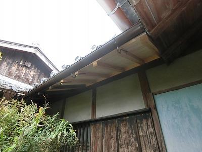 屋根修理 (2)