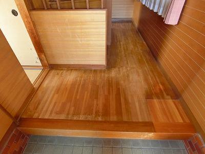 廊下床工事 (2)