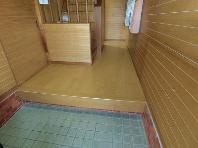 廊下床工事 (1)