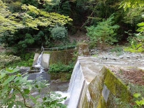 利根川の舂米堰堤