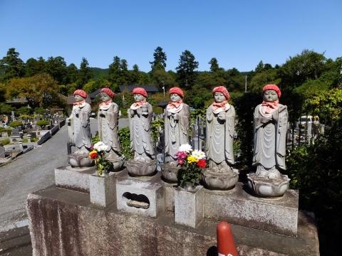 大蔵寺の六地蔵