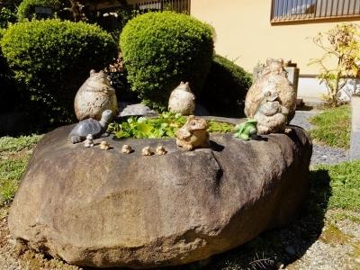 大蔵寺のカエル像