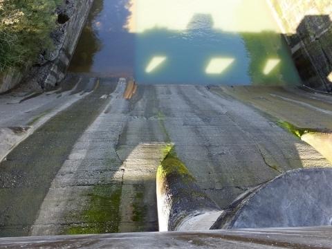 相模ダム堤体