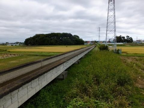 相模川左岸用水路・寒川水路橋