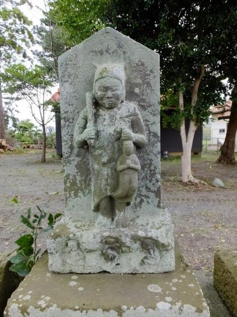 小動神社の庚申塔