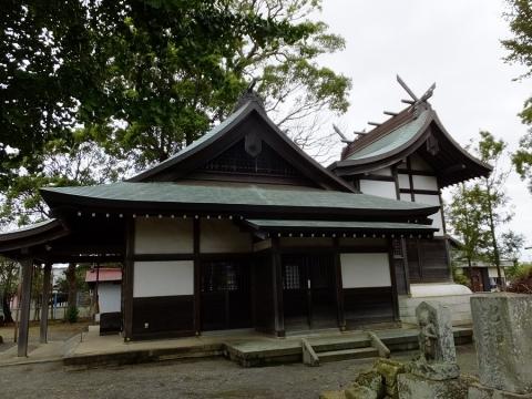 寒川町の小動神社