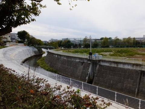 下土棚遊水地A池・排水ゲート