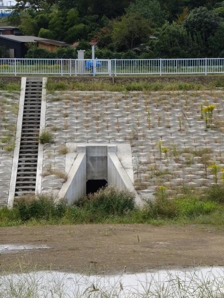 下土棚遊水地B池・排水ゲート