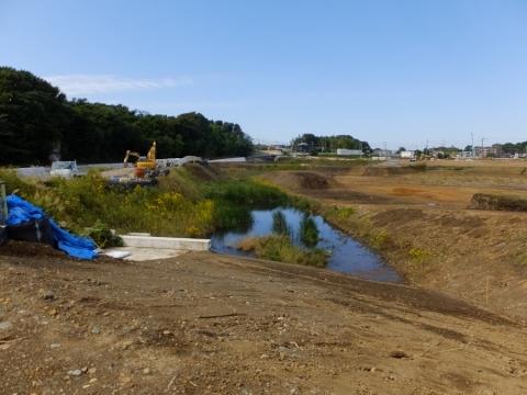 下土棚遊水地C池