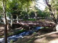 万力林の吊り橋