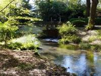 万力林の分水ゲート