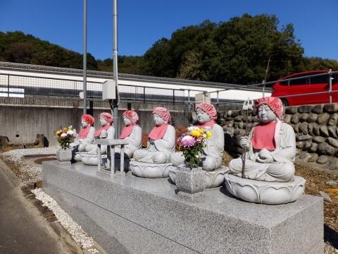 宝泉寺の六地蔵