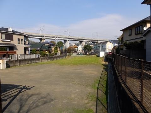 帷子川旧河道・逆田橋公園付近