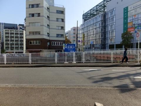 新田間川緑地・新田間川終(起)点