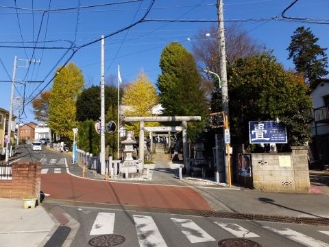 諏訪神社・東京都町田市相原町