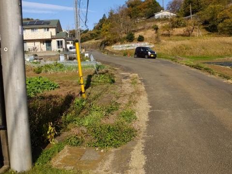 町田市相原町の水路・相原小付近
