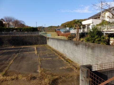 東京都町田市相原町・真米川源流雨水調整池