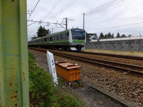 JR横浜線30kmキロポスト