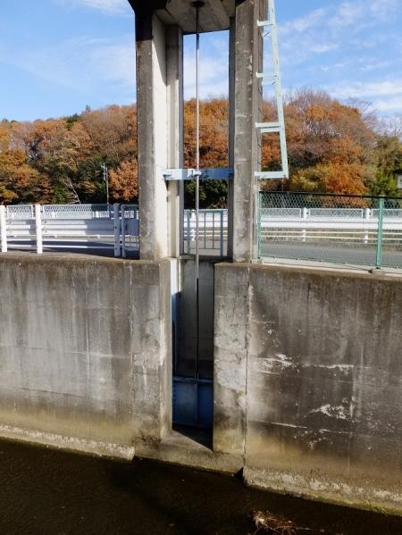 栗原遊水地A池・排水ゲート