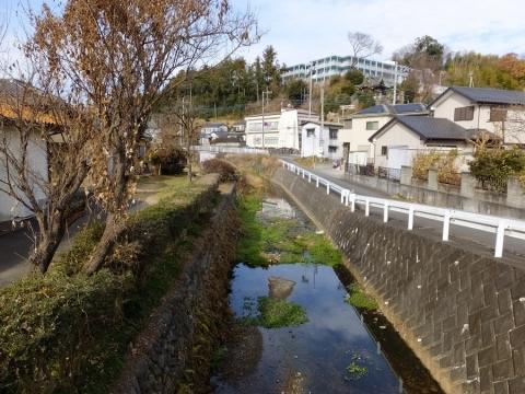 風戸橋より境川上流方向の眺め