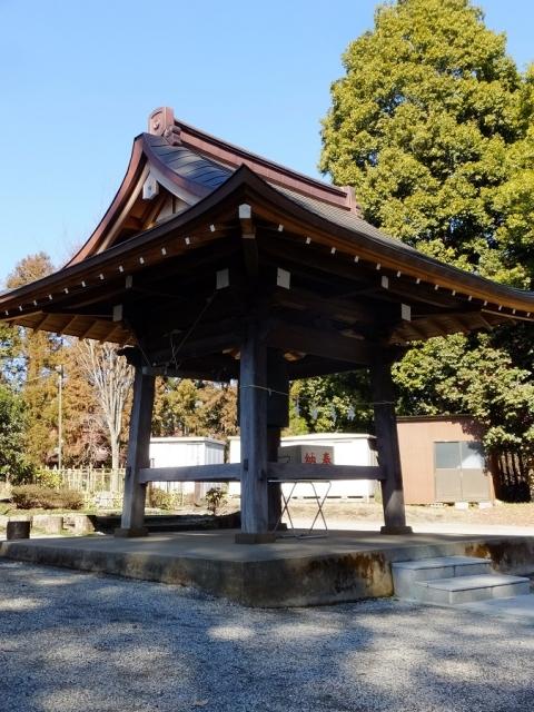 鹿嶋神社の鐘楼