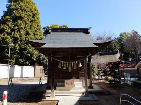 鹿嶋神社境内社の稲荷神社