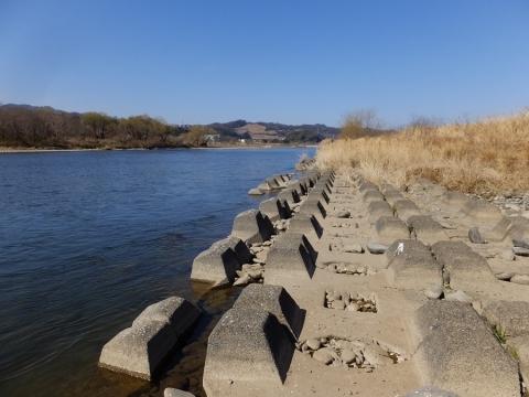 相模川・望地河原前