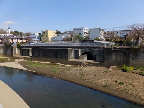 大岡川取水庭