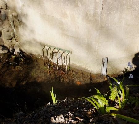 新堀用水の分水施設