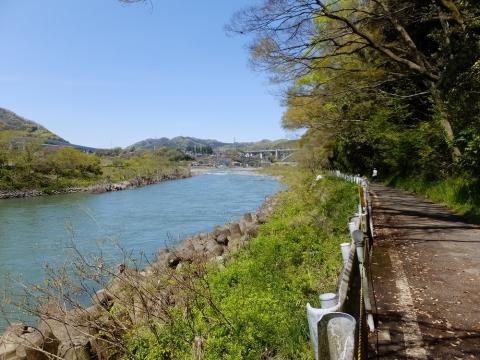 相模川散策路・諏訪森下橋上流