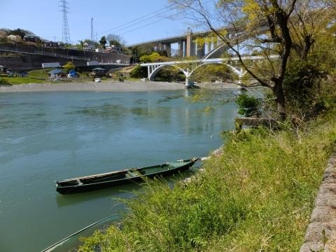 相模川散策路・小倉橋下流