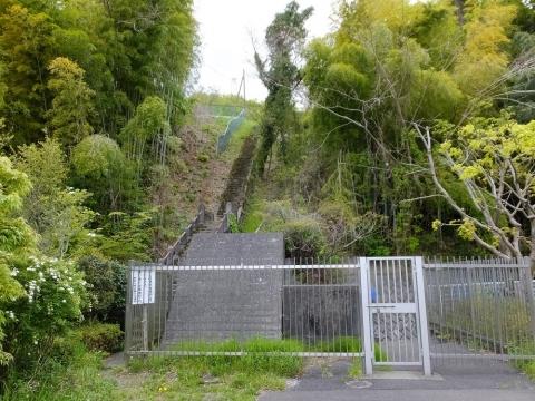 谷ケ原浄水場の配水池