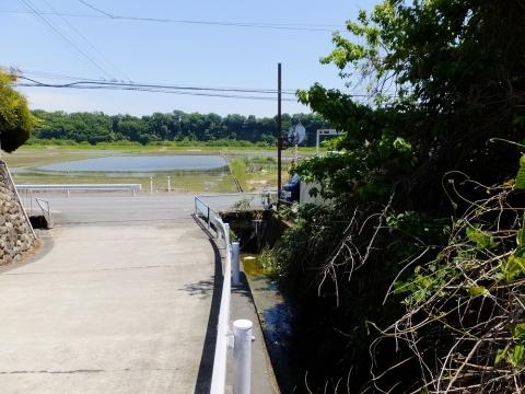 葉山島の小河川