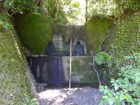 藤木川支流の砂防ダム