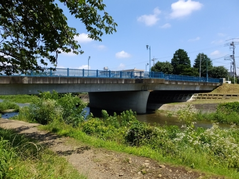 南浅川・横山橋