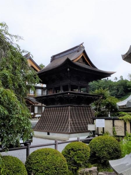 保福寺の鐘楼