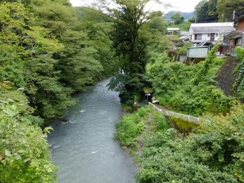 またと橋より鶴川下流の眺め