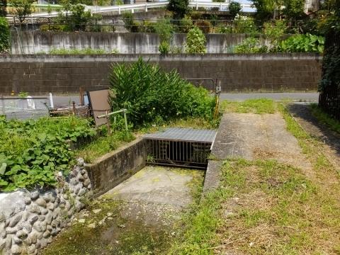 羽用水路・暗渠入口