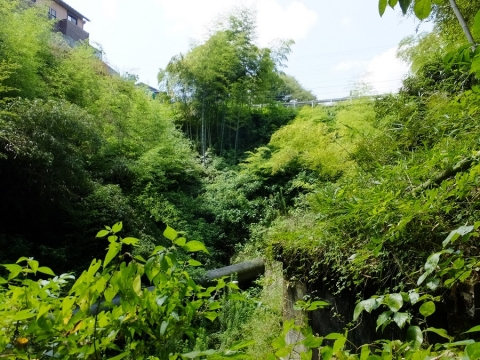 上野原用水・山風呂サイフォン