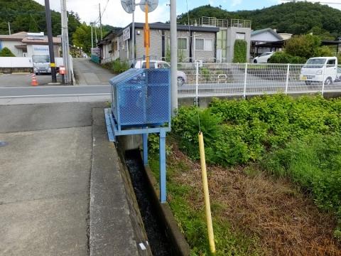 上野原用水支線用水路