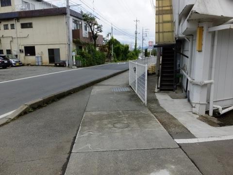 上野原用水・大堀水路橋南詰