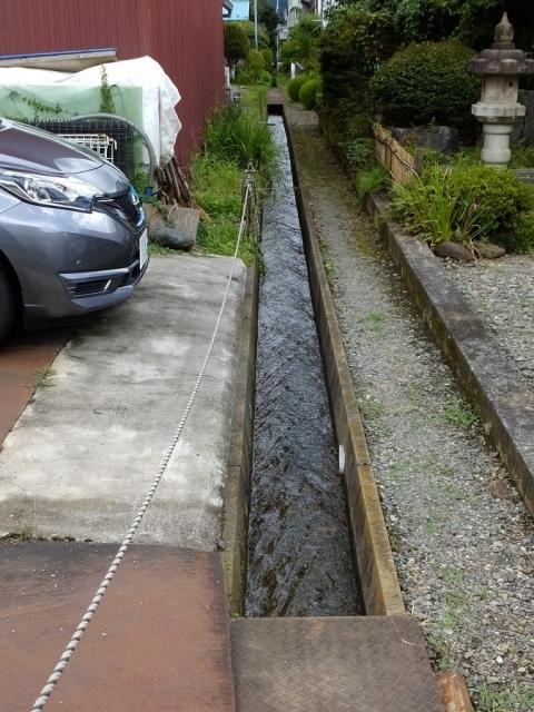 上野原用水・支線用水路
